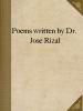 Poems written by Dr. José Rizal